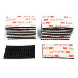 3M-Klettband-Klettpad-18x-stark-selbstklebend-Druckverschluss-Kennzeichen-SJ3550