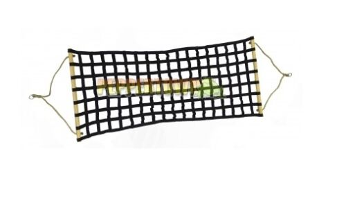 Hammock Bed with spreader bars Black or Red Indoor Under Cover Patio Swing