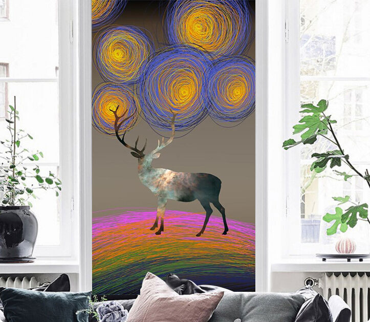 3D Animal Floral 56 Wall Paper Wall Print Decal Wall Deco Indoor AJ Wall Paper