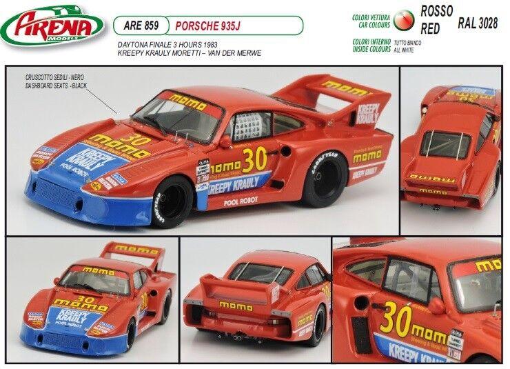Kit Porsche 935 J Moretti-Van der Merwe Daytona 1983  Arena Models kit 1 43