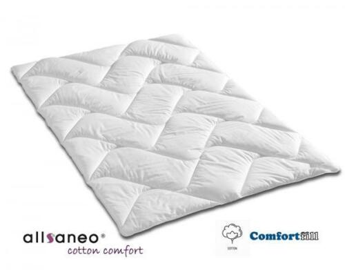 allergikergeeignet allsaneo® cotton comfort Steppbett 200x220 cm 95°C kochfest