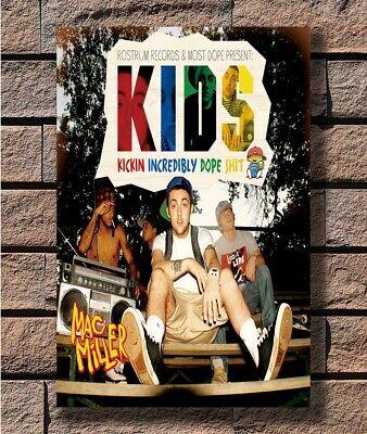 Y470 Rapper Mac Miller KIDS Music Star Hot Fabric Poster 16x16 24x24