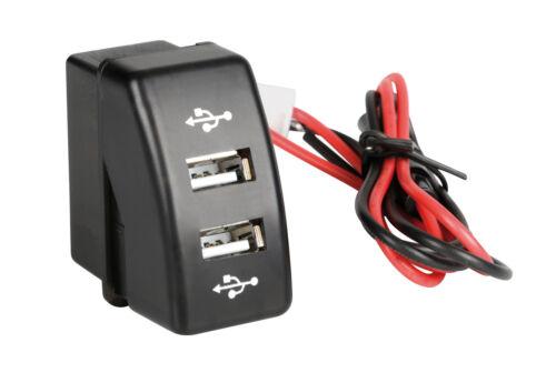DAF LAMPA Original-Fit Double Socket USB 12//24V