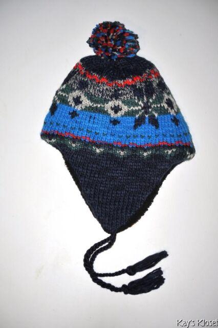 c6f248f2d79f5 NWT American Eagle AEO Trapper Hat Mens Guys -Winter ski snow Birthday  Vacation