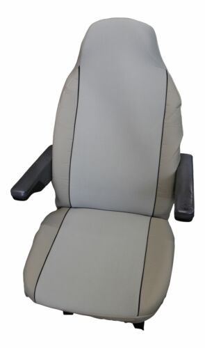 PEUGEOT BOXER LUXURY MOTORHOME SEAT COVERS PLAIN BEIGE