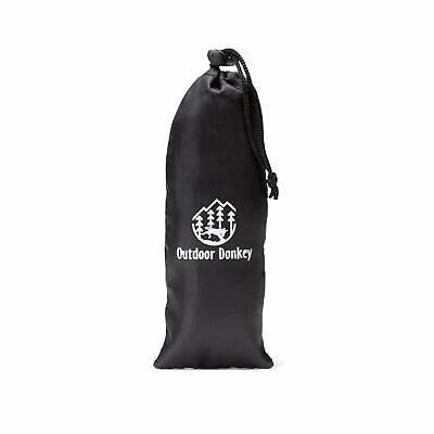 1pc Cotton Poplin Drawstring Organizer Bag Party Gift Bag Print Donkey Navy bl E