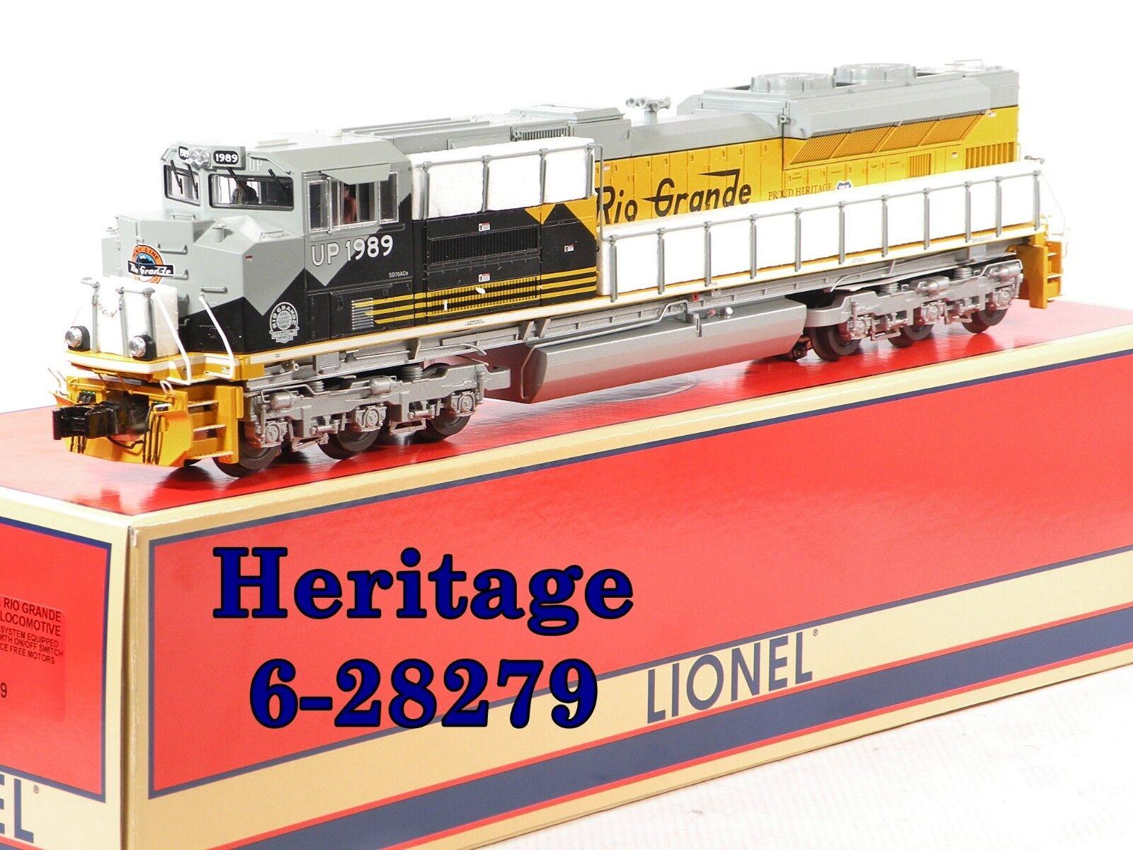Lionel 6-28279 Union Pacific   Rio Grande Heritage SD-70ACe 2007 C9 10