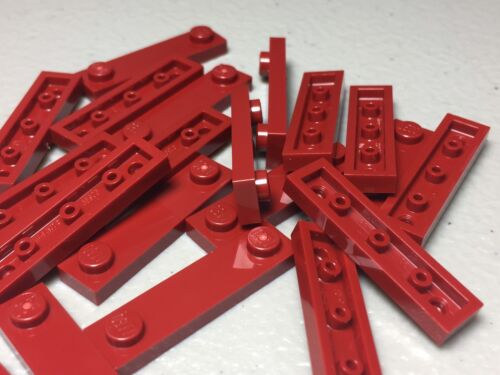 Dark Red 1x4 Plates Modified 2 Studs 92593 Authentic LEGO PARTS x20 LEGO