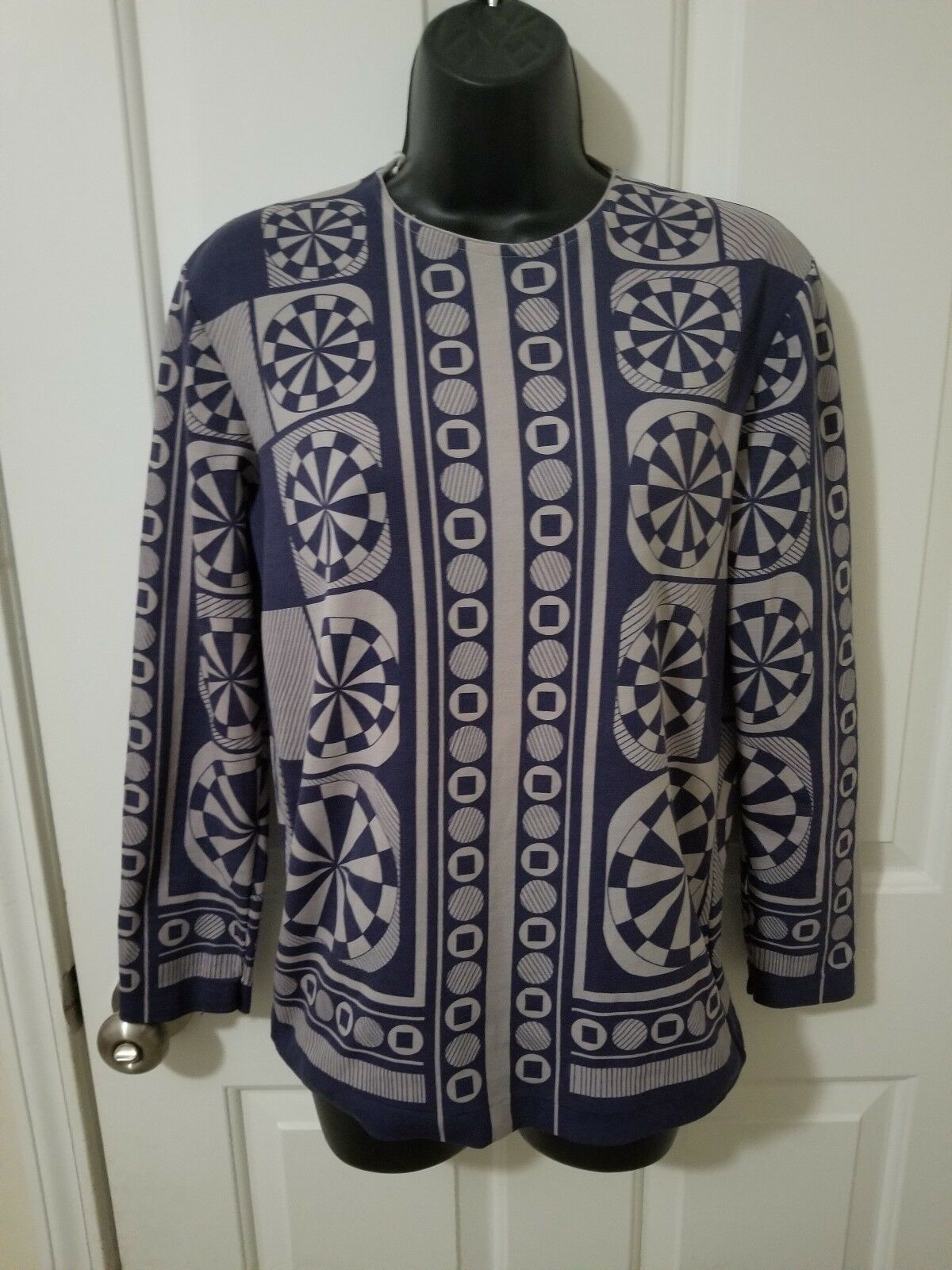 Vintage Mod Style Miss Holly's Hong Kong Womans Large Shirt
