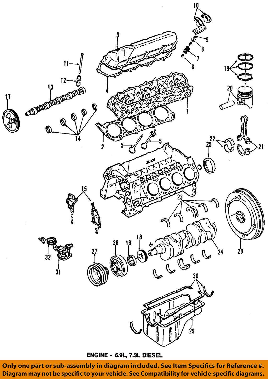 Ford Oem Crankshaft Sprocket Nos E3tz 6306 A 73l 1983 1991 F250 7 3l Powerstroke Engine Diagram Norton Secured Powered By Verisign