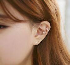 1 piece Lovely bird Crystal Ear Non Piercing Clip On Earring. USA seller