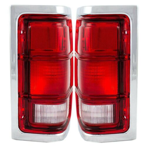 New Tail Lamp Left Right for Dodge D150 81-93 CH2808103 CH2809103 Pickup 2-Door