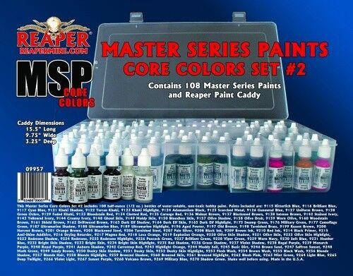 Reaper Miniature Master Series Paints MSP MSP MSP 09957 Master Series Core colors Set 2 c7f0c9