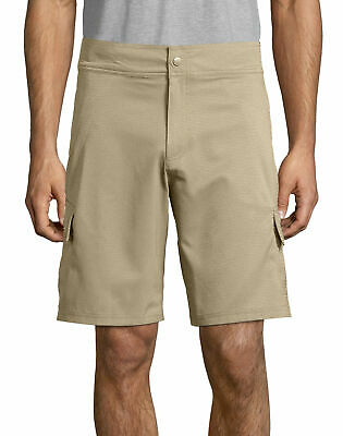 Hanes Sport Men/'s Woven Utility Shorts w//Elastic Back Waistband-3 COLORS S-2XL