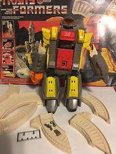 1985 Hasbro Transformer Transformers OMEGA SUPREME G1 Autobot Defense Base w box