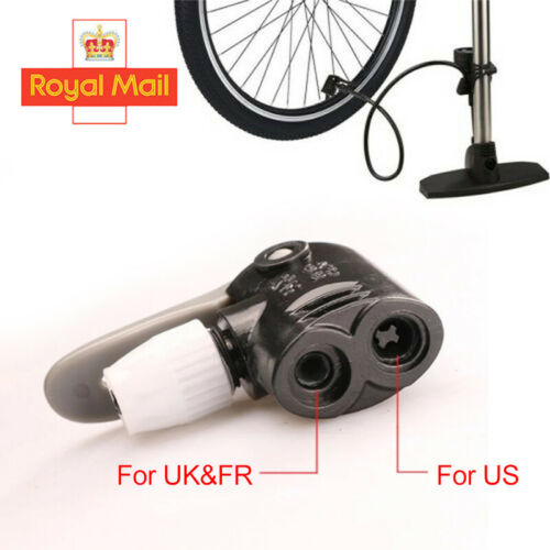 Bicycle//Bike//Cycle Tyre Tube Replacement Presta Dual Head Air Pump Adapter Valve
