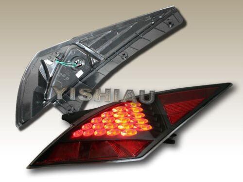 FIT FOR 03-06  350Z Z33 FAIRLADY LED TAIL LIGHTS 04 05 BK