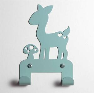Image Is Loading Bambi Fawn Deer Wall Coat Rack Hat Clothes