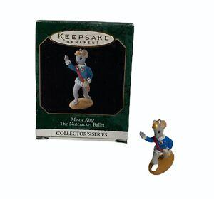 Hallmark Keepsake Ornament Mouse King Nutcracker Ballet Collector's Series