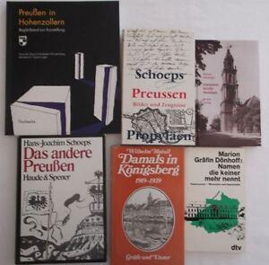 6-Buecher-zum-Thema-Preussen-gebundene-Ausgaben-und-Taschenbuecher-S53