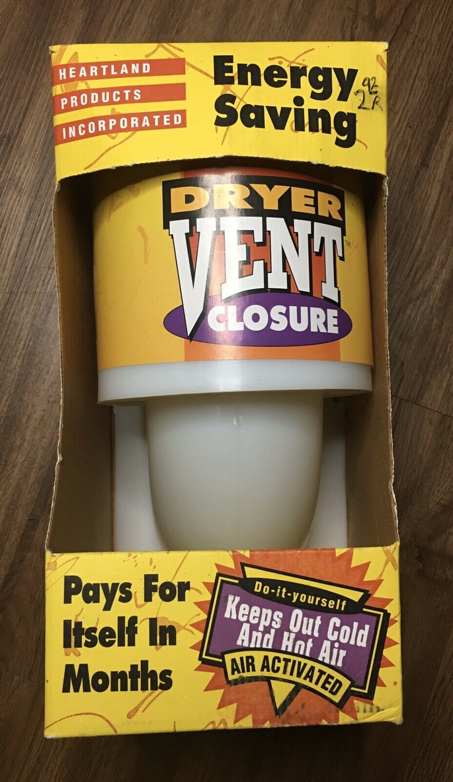 HEARTLAND 21000 Energy Saving Dryer Vent Closure