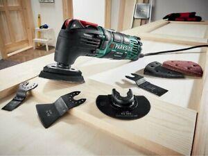 PARKSIDE® Outil Multifonction PMFW 310 D2 310 W + Accessoires Poncer Scier...
