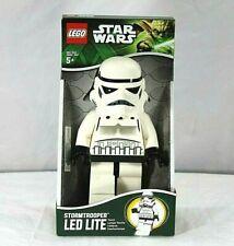 """New LEGO Star Wars Storm Trooper LED Flashlight Torch 8/"""" Tal"""