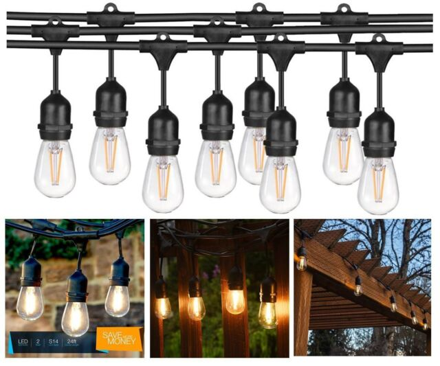 Bright Path LED Dimmable Indoor/ Outdoor 33' 10 LED bulbs