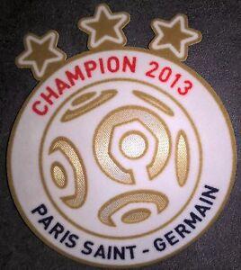 France Patch Badge Lfp Ligue 1 Maillot De Foot Du Paris.sg Champion 2013 * 13/14