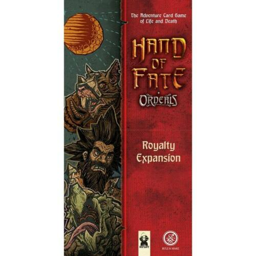 Hand Of Fate Ordeals Royalty Expansion SEALED NEW