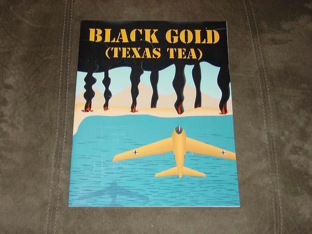 XTR Corp 1990 - schwarz Gold game - (TEXAS TEA) Axis Won WW2 (Unpunched)