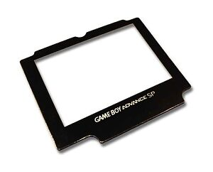 GAMEBOY-ADVANCE-SP-GBA-SP-REPLACEMENT-LENS-SCREEN-with-LOGO-UK-Seller