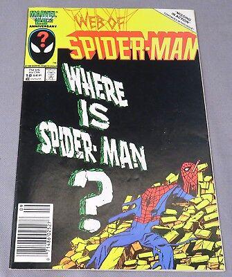 WEB OF SPIDER-MAN #18 9.4 NM 1ST APP OF EDDIE BROCK  VENOM 1985