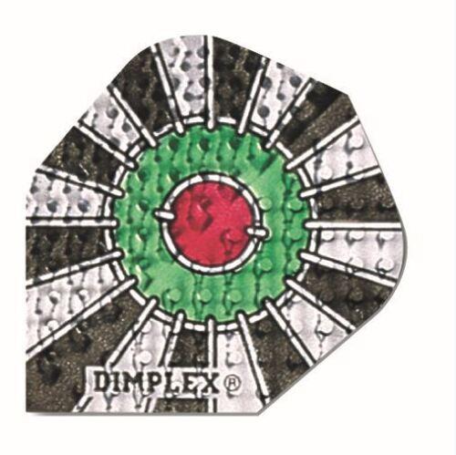 Harrows Dimplex Dart Flights Standard Size 21 Available Designs