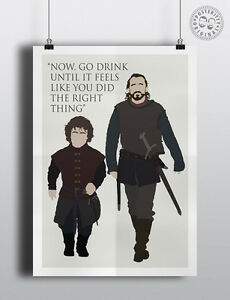 GAME-OF-THRONES-Bronn-Quote-Minimalist-Poster-Modern-Wall-art-Posteritty
