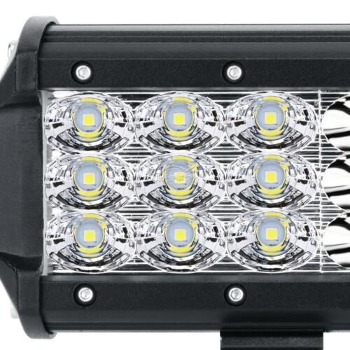 TRI ROW 12Inch 360W Led Light Bar Combo For Jeep Dodge Ford ATV Truck Offroad 14