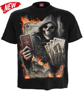 ESPIRAL-DIRECTO-AS-Segador-Camiseta-Tatuaje-Calavera-poker