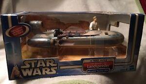 Paysagiste Star Wars avec Luke Skywalker Un nouvel espoir Hasbro 2002 76930325117