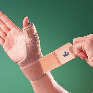 OPPO 1289 WRIST & THUMB SPICA Support Metal Splint Stabiliser De Quervian Sprain