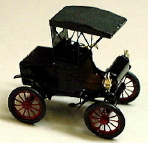 Z-Scale-1029-Micron-Art-1904-Olds-Runabout-2-each-Brass-Kit