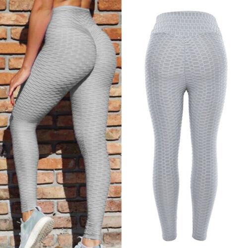 Damen PUSH UP Leggings Sports Hose Anti Cellulite  Yogahose Jogginghose Leggins