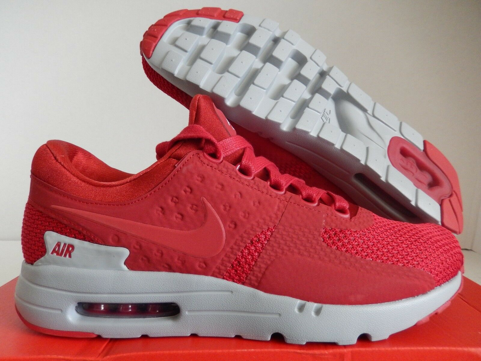 Nike air red-gym max 0 premio palestra red-gym air red-wolf grey sz 9,5 - 881982-600] 0bf966