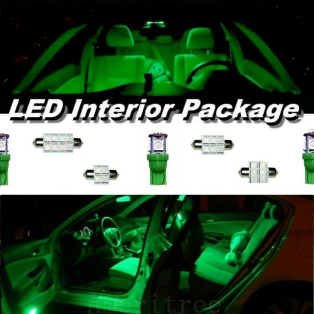 2012 Green LED Interior Kit + License