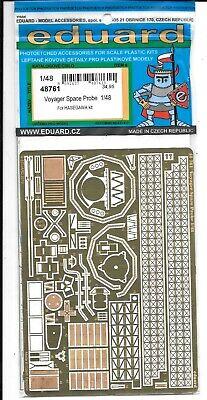 Di Animo Gentile Eduard Voyager Spazio Sonda, Foto Etch Dettagli In 1/48 761 Per Hasegawa Kit St Carino E Colorato