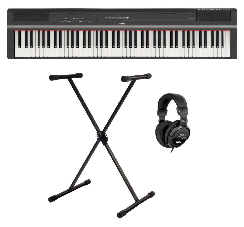 Geniales Piano Set inkl. 88-Tasten Stage Piano, X-Keyboardständer und Kopfhörer