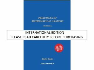 Details about Principles of Mathematical Analysis by Walter Rudin