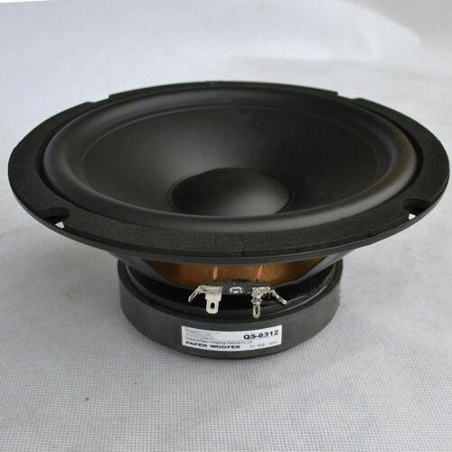 "1pcs 8/"" inch Woofer Speaker HiFi Home Audio Bass Loudspeaker 160W 8Ω"
