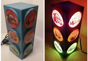 Cars Traffic Lamp Stop Light Lightning McQueen Mater Rusteeze #5094 Disney Pixar
