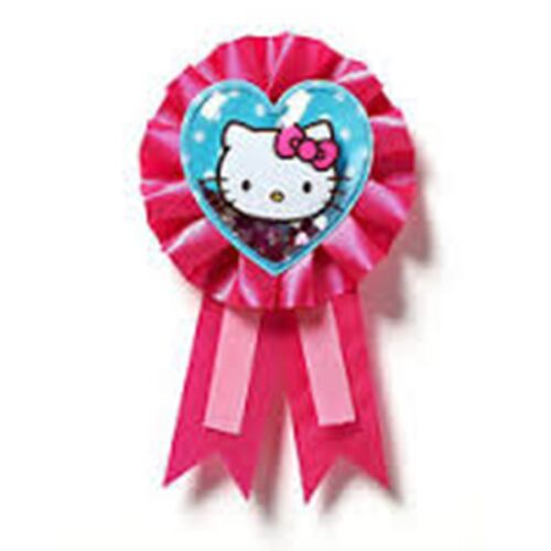 Hello kitty fête-birthday girl glitter badge-livraison gratuite au royaume-uni