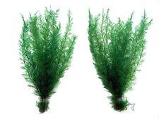 x2 Natural Green Aquarium Fern Plants Fish Tank Artificial Plant Decoration